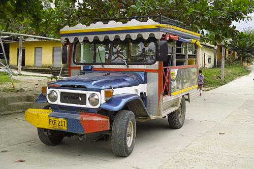 Off Road Vehicle in Colombia